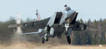 Srušio se ruski MiG-31