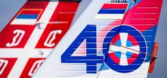 Obeleženo 40 godina od prvog leta Utve-75