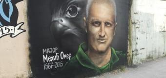 Novosađani muralom odali počast poginulom pilotu Omeru Mehiću