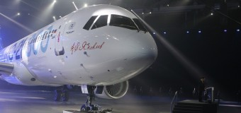 U Sibiru prezentovan novi putnički avion MS-21