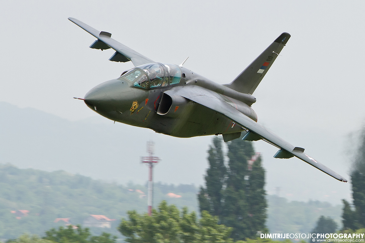 """241. squadron """"Tigers""""  - Serbian Air Force © www.dimitrijeostojic.com"""