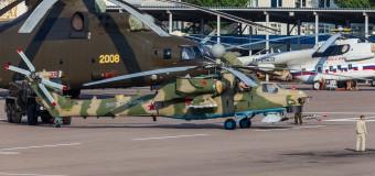 Helikopter Mi-28NM sa protivtenkovskim raketama dugog dometa